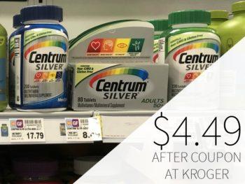 photo regarding Centrum Coupon Printable referred to as Centrum coupon I Center Kroger