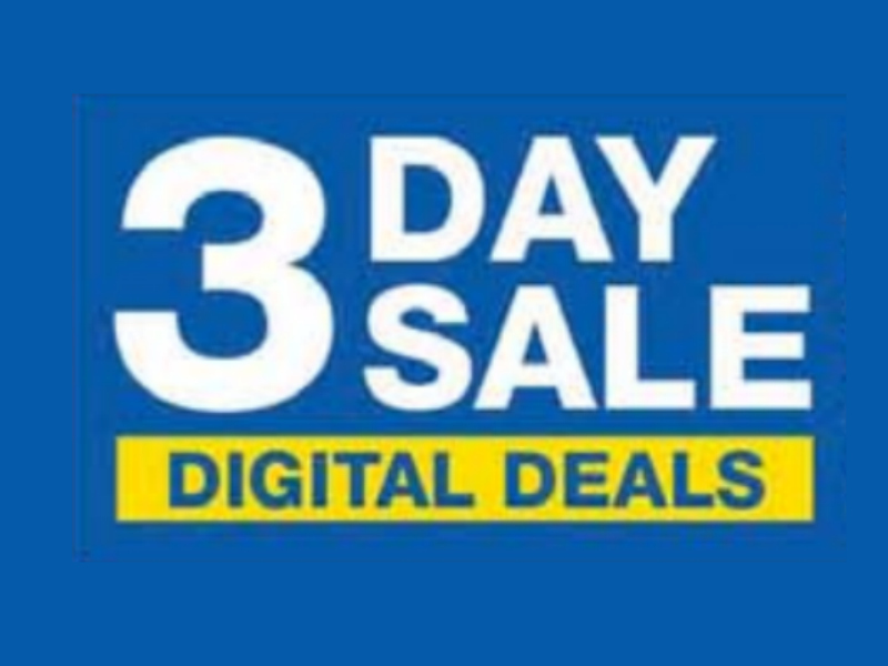 Load Your Coupons For The 3 Days Of Digital Deals 2