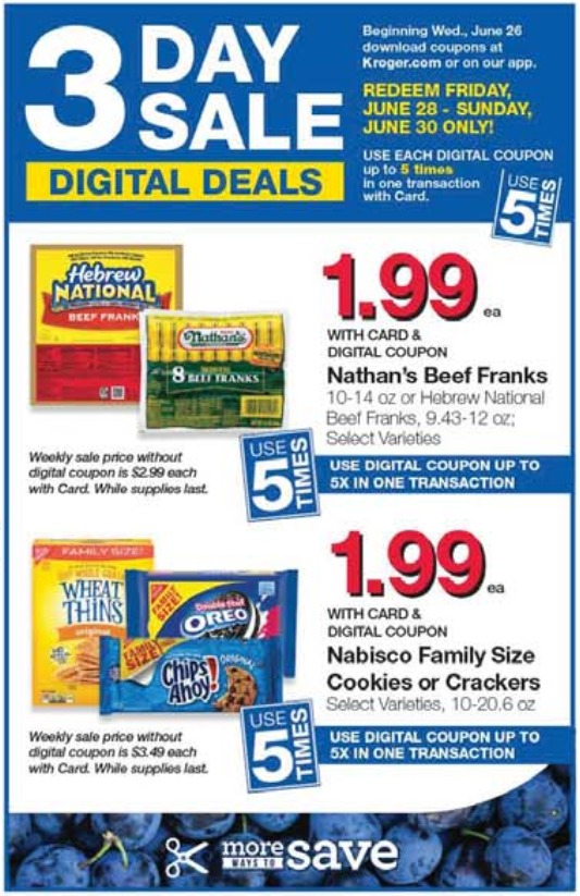 Load Your Coupons For The 3 Days Of Digital Deals 3