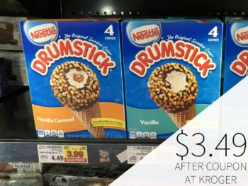 Drumstick Cones Just $3.49 Each At Kroger