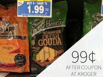 New Frigo Cheese Heads Coupon - Just $1.24 During The Kroger Mega Sale