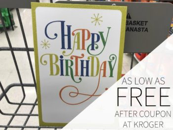 Hallmark Greeting Cards As Low As Free At Kroger