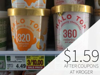 Halo Top Ice Cream Just $1.59 Per Pint At Kroger