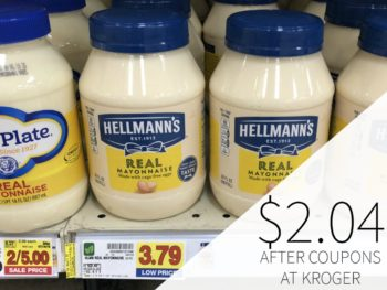 Hellmann's Real Mayonnaise Just $2.04