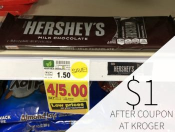 Hershey's Snack Size Chocolate Just $1 Each At Kroger