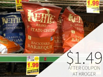 Kettle Brand Chips Just $1.49 Each At Kroger