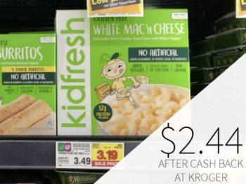 Kidfresh Frozen Mac 'n Cheese Just $2.44