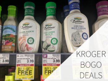 Kroger BOGO Deals Week Of June 28