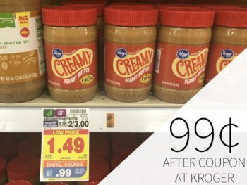Kroger Peanut Butter Or Jelly Just 99¢ At Kroger - Get Up To FIVE At This Price