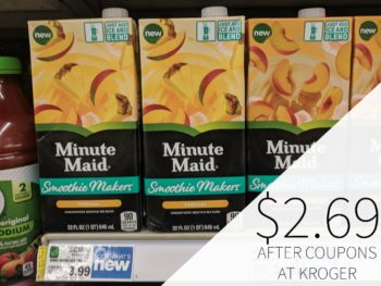 Minute Maid Smoothie Makers As Low As $2.69 At Kroger 1