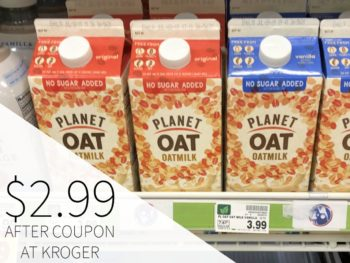 Planet Oat Oatmilk Just $2.99 At Kroger