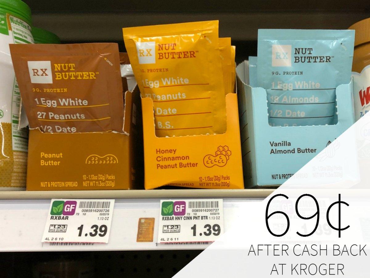 RX Nut Butter Just 69¢ At Kroger