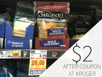 Sargento Shredded Cheese Just $2 Per Bag At Kroger