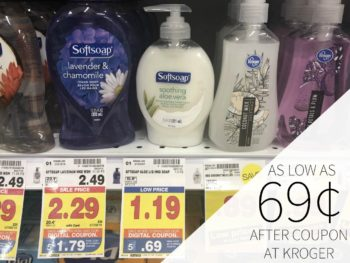 Softsoap Hand Soap As Low As 69¢ At Kroger