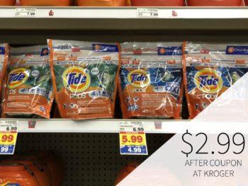 Tide Pods Just $2.99 During The Kroger Mega Sale