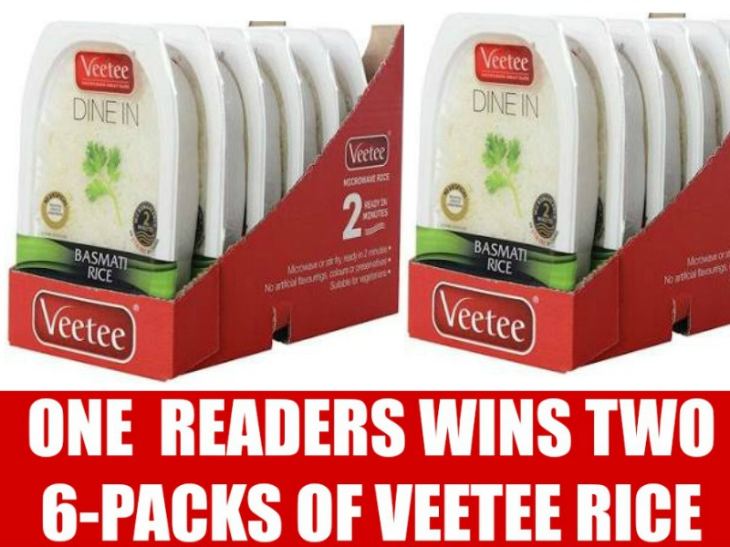 Pick Up Veetee Rice For A Quick & Convenient Meal + One Reader Wins Free Veetee Rice