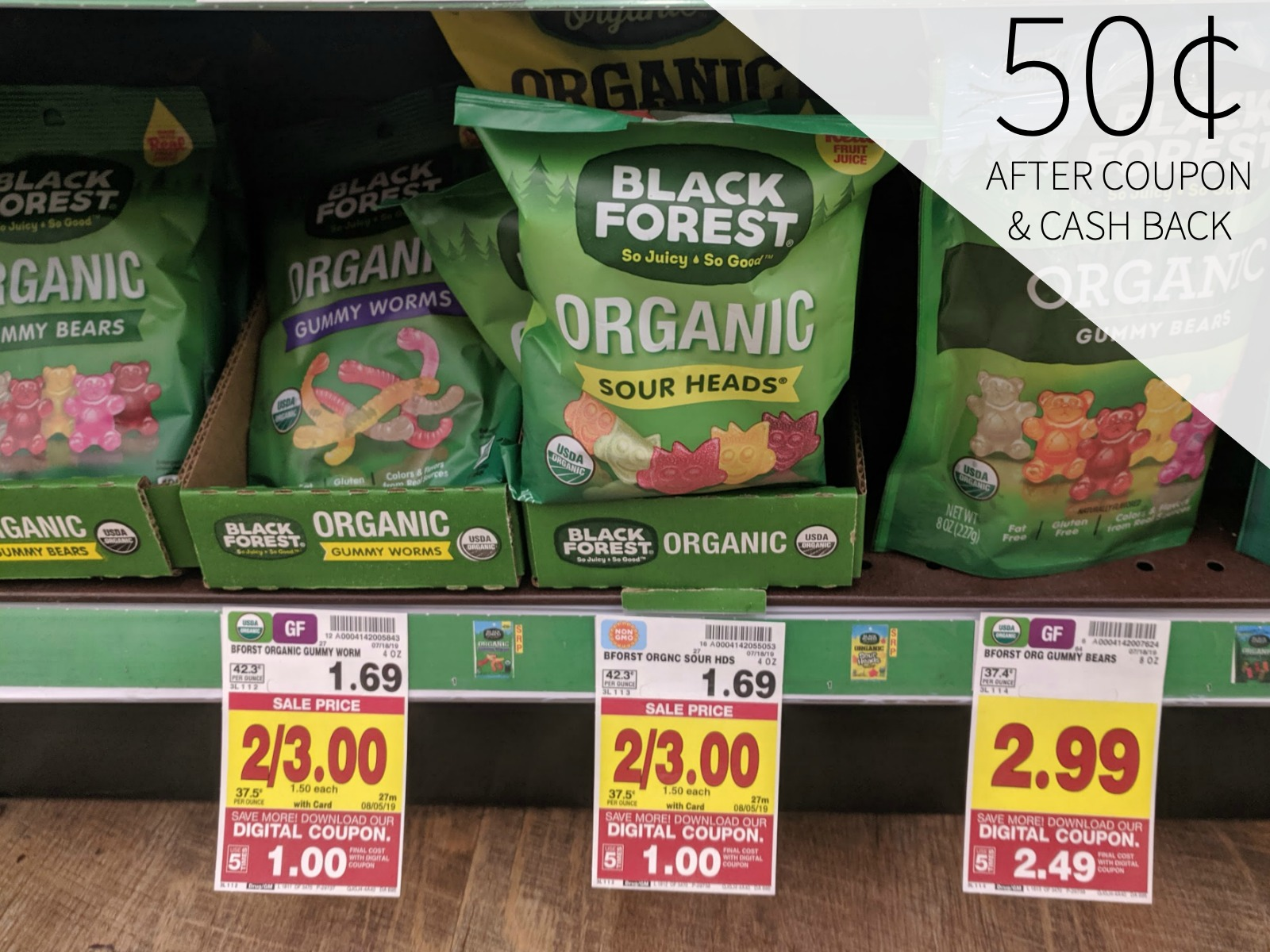 Black Forest Gummy Bears As Low As 50¢ At Kroger