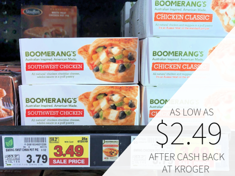 Boomerang's Pies As Low As $2.49 At Kroger