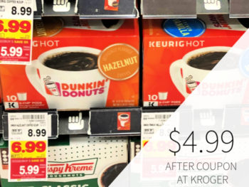 Dunkin Donuts Coffee Only $4.99 At Kroger