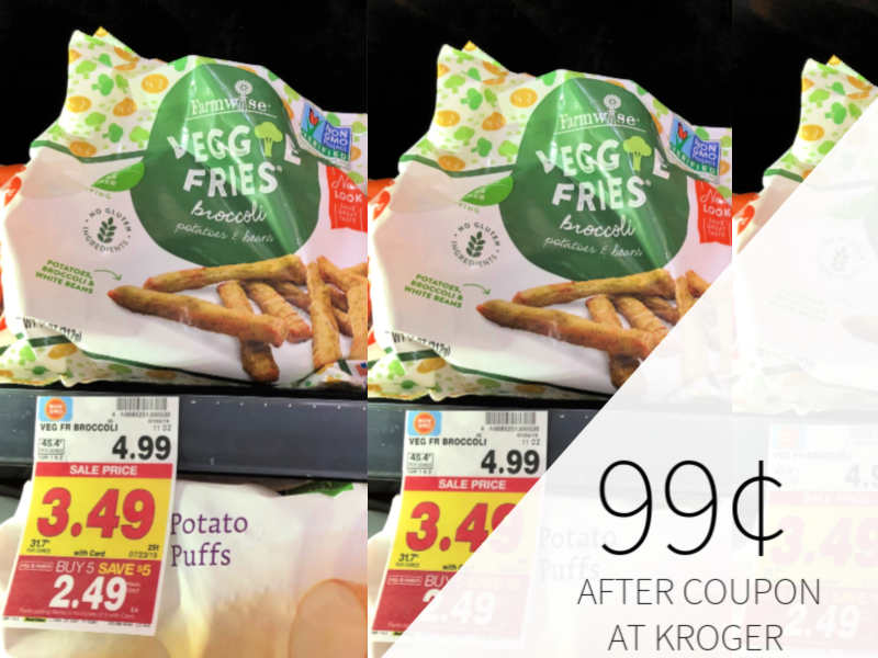 Farmwise Veggie Fries Only 99¢ During The Kroger Mega Sale