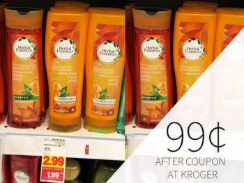 Herbal Essences Hair Care Only 99¢ During The Kroger Mega Sale