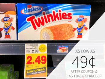 Hostess Multipack Snack Cakes As Low As 49¢ At Kroger