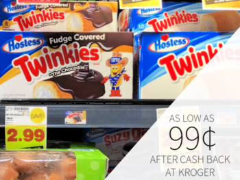 Hostess Twinkies As Low As 99¢ At Kroger