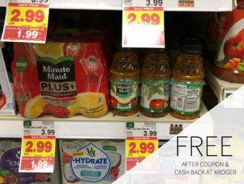 New Minute Maid Juice Plus+ Coupon - As Low As 69¢ During The Kroger Mega Sale