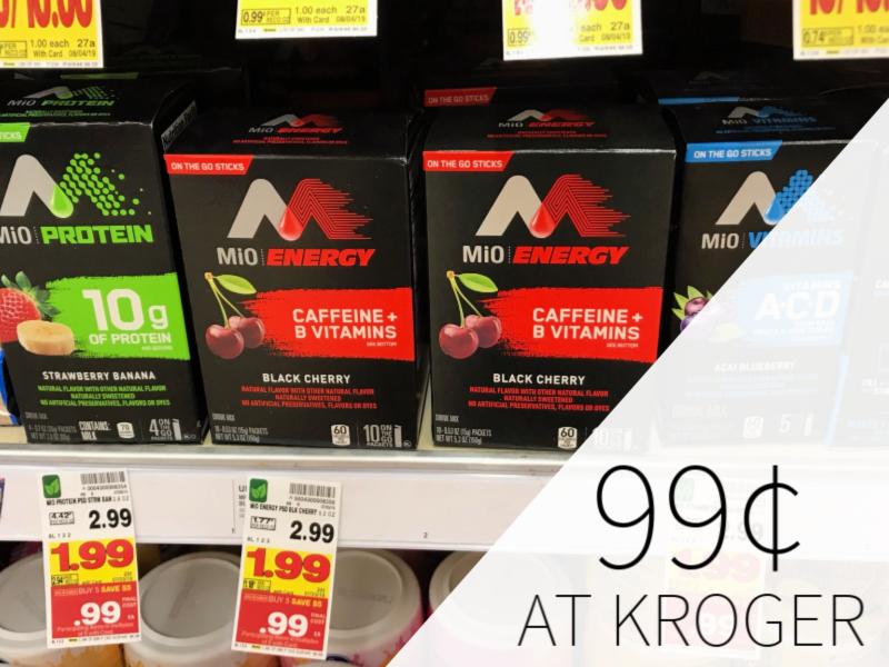 Mio Powder Just 99¢ During The Kroger Mega Sale