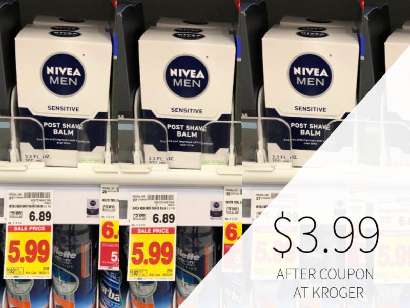 New Nivea Coupon - Nivea Shave Balm Only $3.99 At Kroger