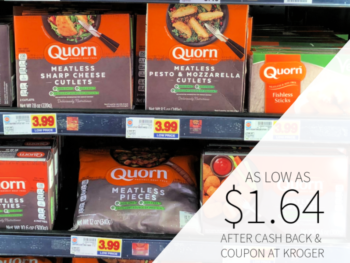 Quorn Meatless Frozen Products As Low As $1.64 At Kroger