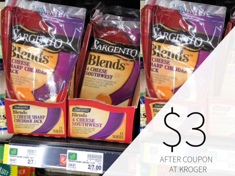 New Sargento Coupon - Blends Cheese Slices Only $3