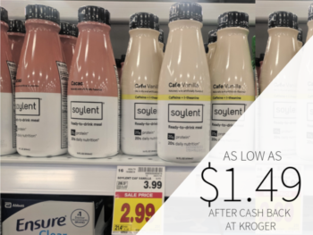 Soylent As Low As $1.49 At Kroger