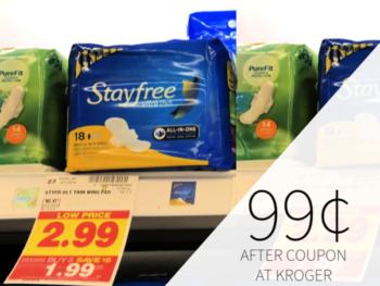 stayfree coupon I Heart Kroger