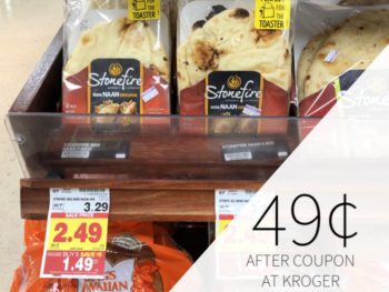 Stonefire Naan Just 49¢ During The Kroger Mega Sale