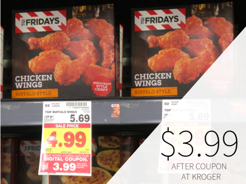 photograph regarding Tgifridays Printable Coupons named TGIFridays Appetizers Specifically $3.99 At Kroger