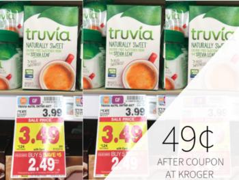 photograph regarding Truvia Coupons Printable named truvia coupon I Centre Kroger