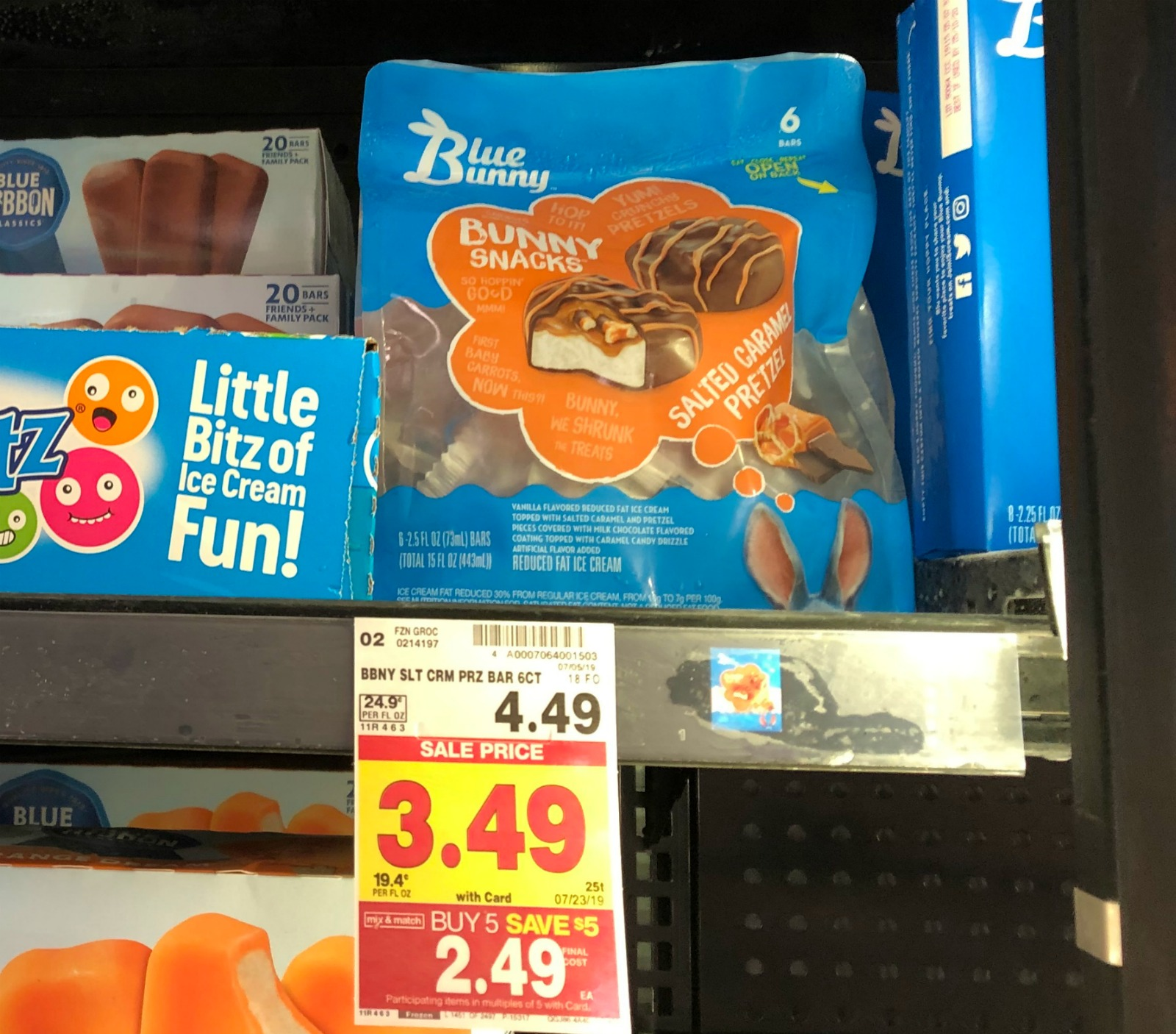 Blue Bunny Ice Cream Novelties As Low As 39¢ At Kroger 1
