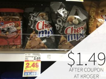 Chex Mix, Bugles, Gardetto's As Low As $1.49 At Kroger