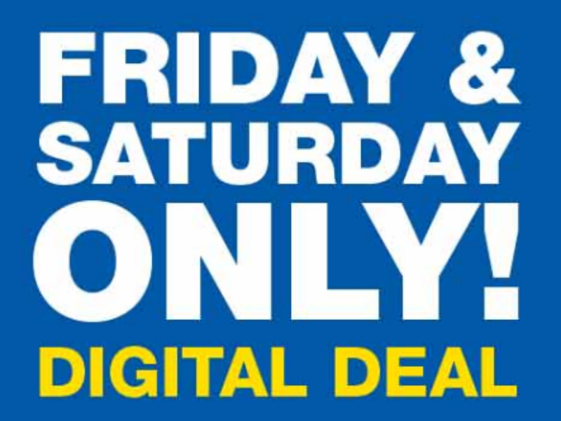 Load Your Coupons For The 2 Days Of Digital Deals 10