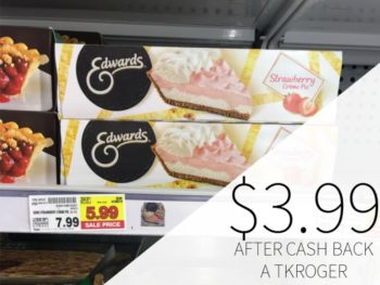 image about Edwards Pies Printable Coupons known as edwards pie coupon I Center Kroger