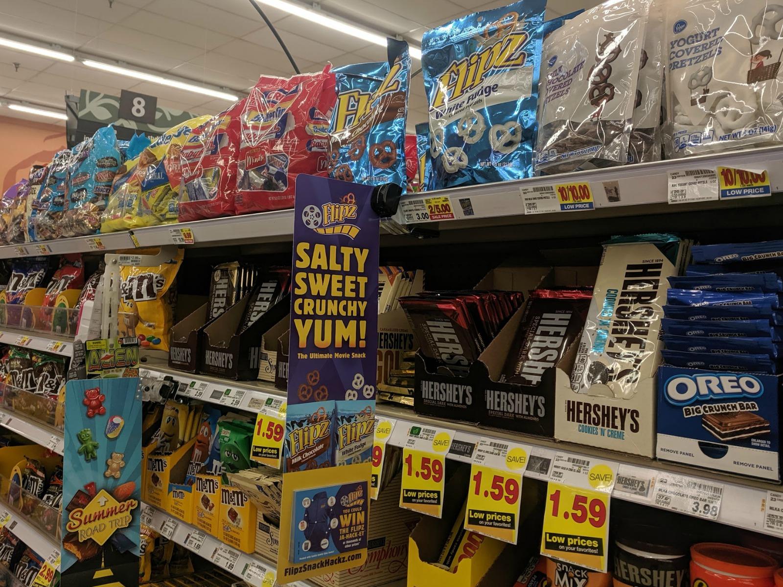 Stock Up On Your Favorite FLIPZ® Snacks At Kroger & Enter The FLIPZ® Summer Snack Hackz Instant Win Game