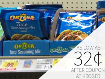 Ortega Products As Low As 32¢ Each At Kroger
