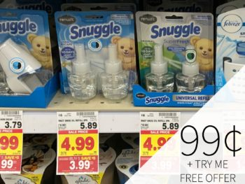 Huge Renuzit Snuggle Coupon And Try Me Free Offer Means An Amazing Deal At Kroger