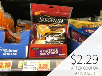Sargento Reserve Series Shredded Cheese As Low As $1.54 At Kroger 1