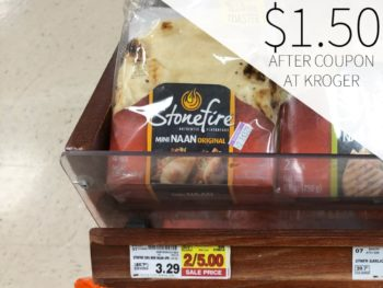 Stonefire Mini Naan Just $1.50 At Kroger
