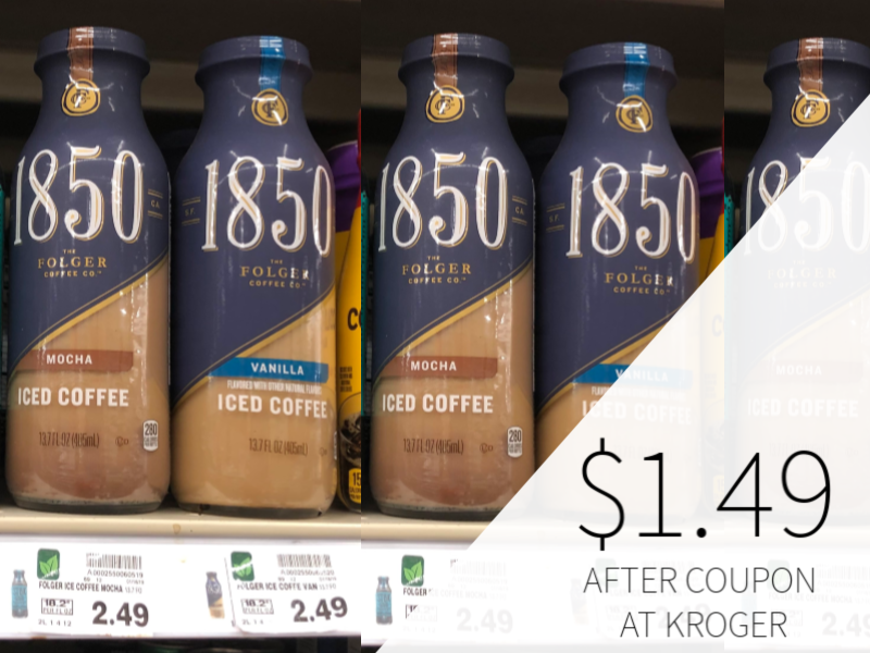 1850 Ready To Drink Coffee Just $1.49 At Kroger