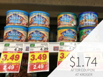 Blue Diamond Almonds Only $1.74 Per Can At Kroger