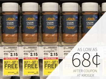 Cajun Spices As Low As 68¢ At Kroger