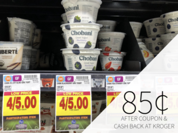 Chobani Greek Yogurt As Low As 85¢ At Kroger 1